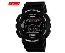 SKMEI 5ATM Water Resistant Men Digital Wristwatch