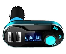Car FM Transmitter MP3 Player with TF Card Slot