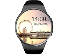 KW18 Bluetooth Heart Rate Smart Wrist Watch