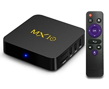 MX10 Smart Android 7.1.2 4GB / 32GB TV Box