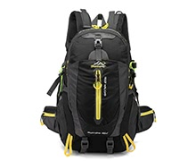 40L Water Resistant Travel Backpack
