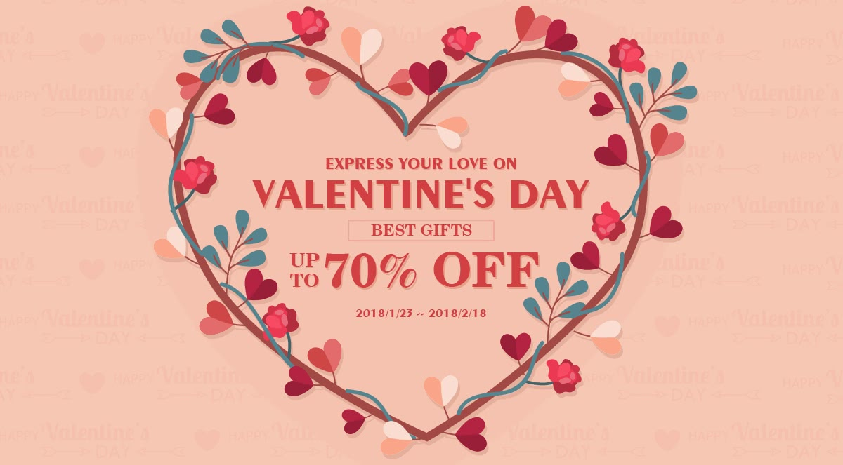 Express Your Love on valentine's day