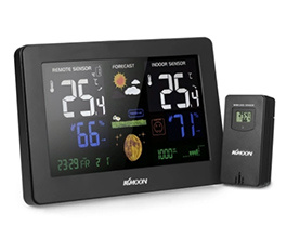KKmoon Multi-functional Wireless Thermometer Hygrometer