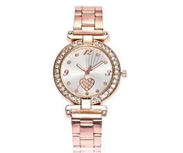 Fashion Diamond Heart Quartz Watch