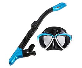 Lixada Anti-fog Snorkeling Mask Snorkel Set