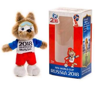 2018 World Cup Zabivaka Mascot