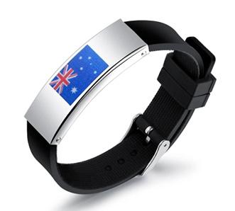 National Flags Bracelets