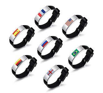 Flag Pattern Bracelet