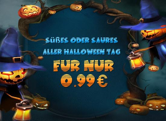 Süßes oder Saures Aller Halloween Tag Für nur 0,99 €