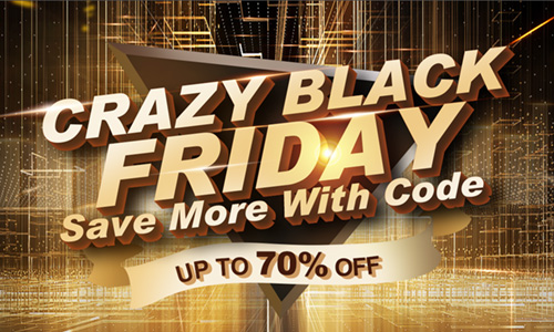 Crazy Black Friday Save More With Code Up To 70% Off