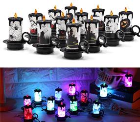 Mehrfarbenänderndes LED-elektronisches Kerzenlicht