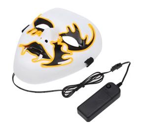Draht-LED-Maske leuchten Halloween-Maske