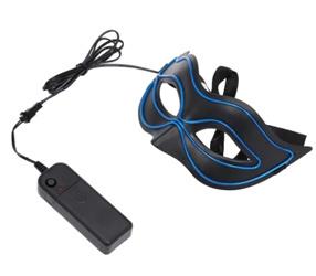 Fox Glühende Maske Draht LED-Maske