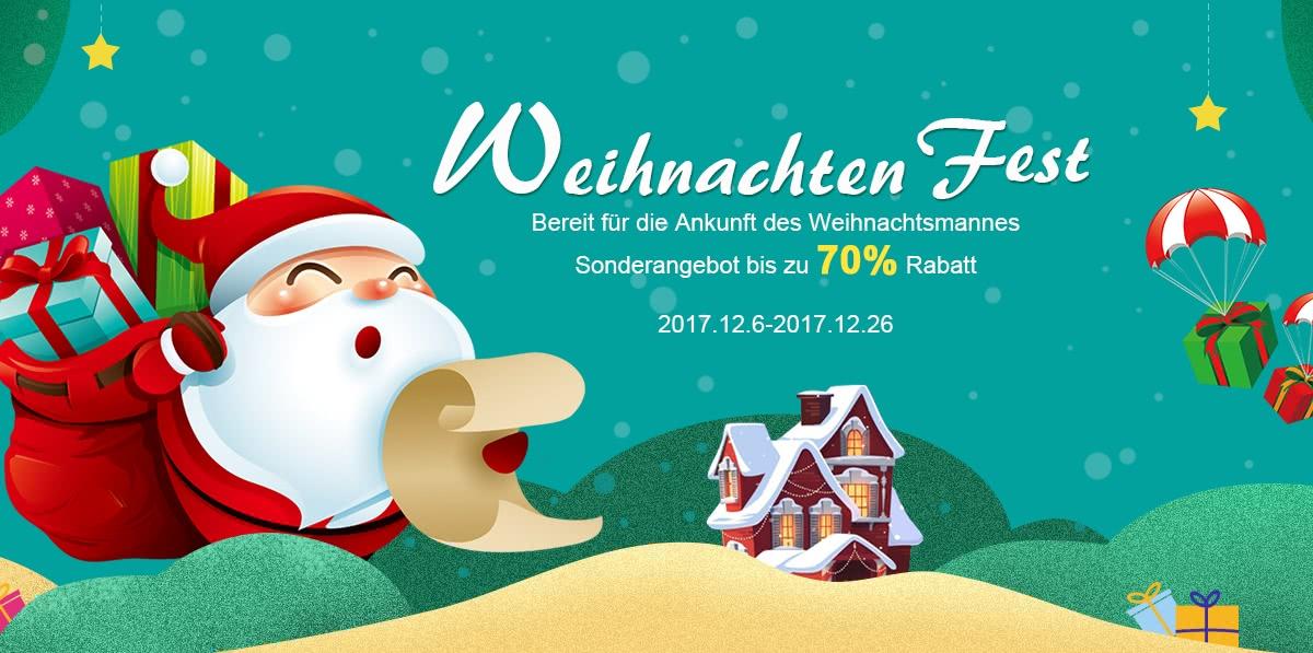 2017 Cafago Weihnachten Fest - Online Shopping für Weihnachtsgeschenke