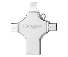 64G 4-In-1 Type-C Flash Drive Memory Stick