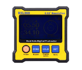 DXL360 Dual Axis Digital Angle Protractor