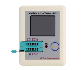 Colorful Display Transistor Tester