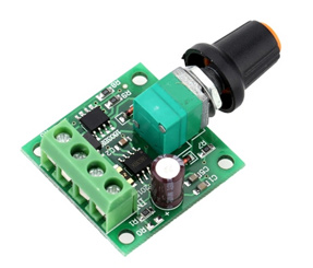 Low Voltage DC PWM Motor Speed Controller Module