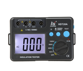 HD HDT20A Insulation Resistance Tester Meter